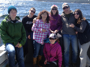 BC salmon fishing charters for the whole family on Vancouver Island, Canada