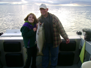 BC salmon fishing, Vancouver Island fishing charters, eco boat tours, Canada