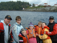 Fun for the whole family, Vancouver Island fishing charters, eco boat tours, BC
