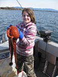 Beachcombing for Pacific Octopus, Vancouver Island fishing charters, eco boat tours, BC