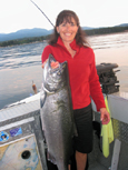 Salmon fishing for the whole family, Vancouver Island fishing charters, eco boat tours, BC