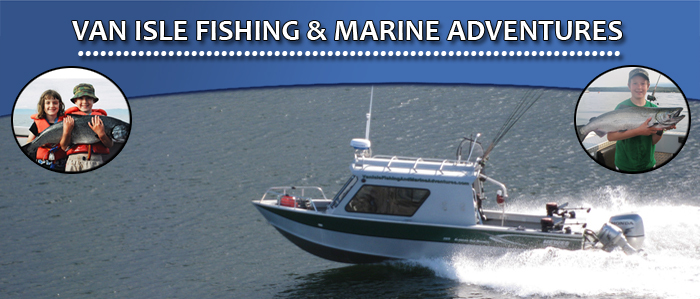 Van Isle Fishing & Marine Adventures Photo Gallery, Deep Bay, Vancouver Island, BC